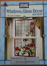 Gallery Glass Windows, Glass Decor by Jan Cumber Donna Dewberry inspired designs