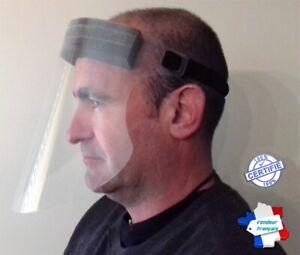 Visière Faciale Protection Visage Anti Projection Salivaire Pollution Poussière
