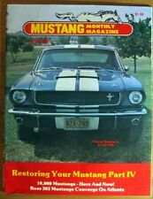 MUSTANG MONTHLY 1980 JAN - '66 GT350, BOSS 302 DAY