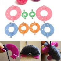 4PCS Pompom Maker Fluff Ball DIY Knitting Machine Knitting Bobble Craft