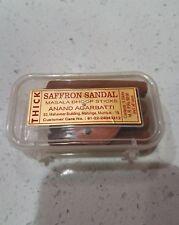 Anand Premium Agarbatti Saffron Sandal Incense hoop Sticks. Sandalwood azafran