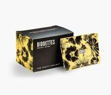 NIB Biddettes The Vanity Project 10 Single Use Feminine Wipes Towelettes