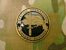 VINTAGE CIA,  SPECIAL OPERATIONS. COVERT ACTIONS  CHALLENGE COIN
