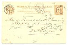 DUTCH INDIES-1892 =NED INDIE VIA BRINDISI = (R 71) KR= LAHAT= >>>>