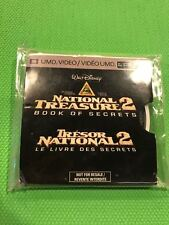 NATIONAL TREASURE 2 BOOK OF SECRETS MOVIE (Sony PSP, 2007) UMD Only NTSC U/C