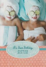 Hallmark Sisters Being Pampering Happy Birthday Greeting Card