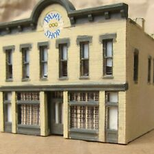 BUILT-UP ~ DOWNTOWN PAWN SHOP Building by DPM ~ Mayhayred Trains N Scale Lot