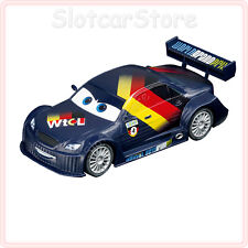 "Carrera Evolution 27404 Disney Pixar Cars 2 ""Max rápidamente"" 1:32 miniatura auto"