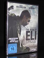 DVD THE BOOK OF ELI - DENZEL WASHINGTON + GARY OLDMAN - Endzeit-Thriller * NEU *
