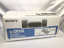 SONY SS-CR150 Surround Sound Speaker Set For Home Theater ~ EXCELLENT ~ Tested