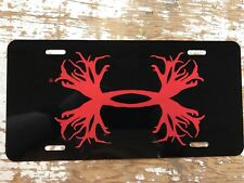 Under Armour Hunting License Plate Car Tag Initials Custom Pick Colors UA
