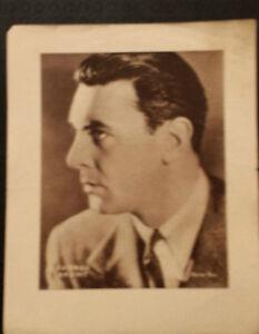 Vintage Sepia printed portrait: GEROGE BRENT - appr..5.5X6 Suitable for Frame