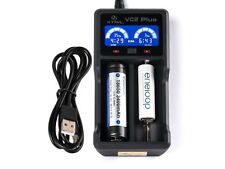 Xtar VC2 Plus Master - Ladegerät für Li-Ion und NIMH Akkus incl. USB Kabel