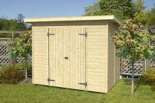14 mm Gartenhaus Julian 240 x 180 cm Schuppen Geräteschuppen Holz Holzhaus Neu