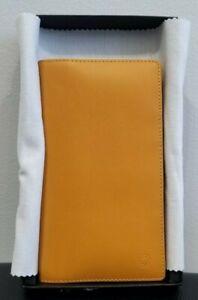 Montblanc Leather Diary Organizer Mustard Yellow