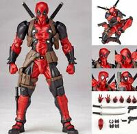 No.001 DEADPOOL Heros X-men Hero Action Figure Revoltech Kaiyodo Verison Toy
