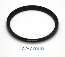 Lens filter adapter ring 72-77mm step-up DSLR Nikon Canon universal professional