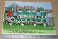 CLIPPING POSTER FOOTBALL 1980-1981 D2 ASE CORBEIL