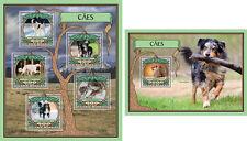 Dogs Pets Animals Fauna Guinea-Bissau MNH stamp set