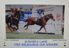 GURNER'S LANE 1982 Melbourne Cup Print