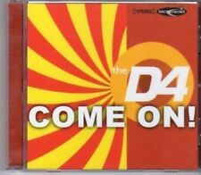 (BW86) The D4, Come On! - 2002 DJ CD