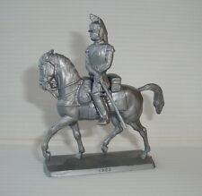 Figurine publicitaire mokarex série Les cavaliers de l'empire : cuirassier 1806
