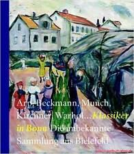 Libro especializado clásico en bonn – Arp Beckmann munch kirchner warhol reduce nuevo