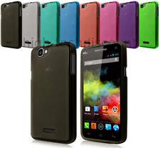 Housse etui coque pochette silicone gel fine pour Wiko Rainbow 4G + film ecran