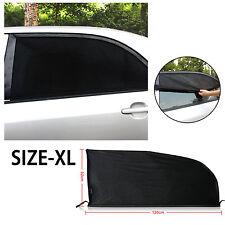 2PCs Universal Car Windshield SunShade Window Curtain Car Sun Visor Protector XL