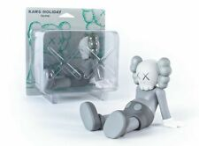"""KAWS: HOLIDAY Taipei 7"""" Grey Vinyl Figure seated position LIMITED Authentic"""