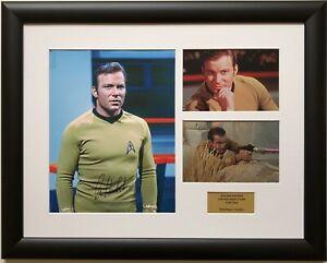 William Shatner / Star Trek / Signed Photo / Autograph / Framed / COA