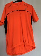 Karrimor High Vis Orange Cycling Jersey T Shirt Men's XXL Zip Pocket