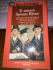 MASTERS  IL NUOVO SPOON RIVER -testo inglese a fonte brossurato newton 1990