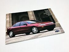 1997 Chevrolet Cavalier Lumina Malibu Monte Carlo Camaro Venture Brochure French