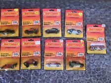 1983 Matchbox Datsun Turbo ZX,Mustang GT, Corvette,Sand Digger, Lot Of 9