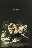 """SAW VI 6 13.5""""x20"""" """"A"""" Promotional Movie Poster Signed by Costas Mandylor COA"""