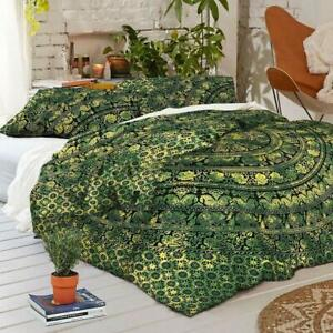 Bedding Set King Size Quilt Duvet Cover Mandala Hippie Gypsy Indian Cover New