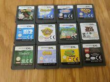 Kids Nintendo DS Games Bundle x12 - Cartridge Only - Pokemon, Lego, Turtles +