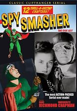 SPY SMASHER -  Cliffhanger serial, 2 disc DVD- KANE RICHMOND, MARGUITE CHAPMAN