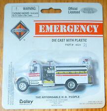 Boley HO #185-402471 Fire Apparatus - International 2-Door Commerical Pumper