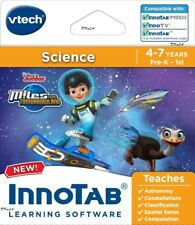 Vtech InnoTab Disney Miles From Tomorrowland Learning Science Game Pre-K 4-7 yrs