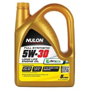 Nulon  Long LIfe Full Synthetic Car Engine Oil 5W-30 5 Litre