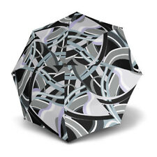 Umbrella by Knirps - T.200 Duomatic Poseidon Black (UV Protected)