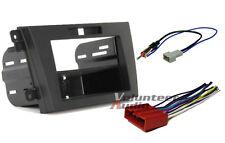 Car Radio Stereo CD Player Dash Install Mounting Trim Bezel Panel Kit + Harness