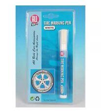 Pneu marquage stylo peinture soulevées en caoutchouc mur blanc personnalisez vos pneus imperméable