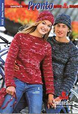 Sandnes Pronto #0312 Barn/Voksne Sandnesgarn Knitting & Crochet Pattern Book