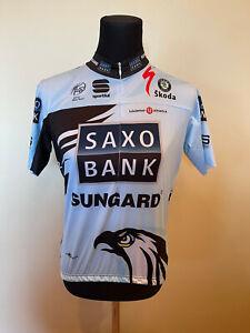Brand New Original Sportful Saxo Bank Jersey SHORT SLEEVES SIZE 2XL For Men