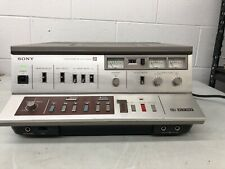 Vintage Sony Betamax SLO-383 Video Cassette Recorder Beta Tape Player TESTED