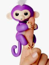 WowWee Fingerlings Baby Mia Purple Monkey Interactive Toy Battery Included Works