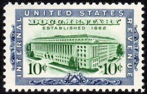 United States Scott #R733 VF MNH 1962 10 Cent Documentary